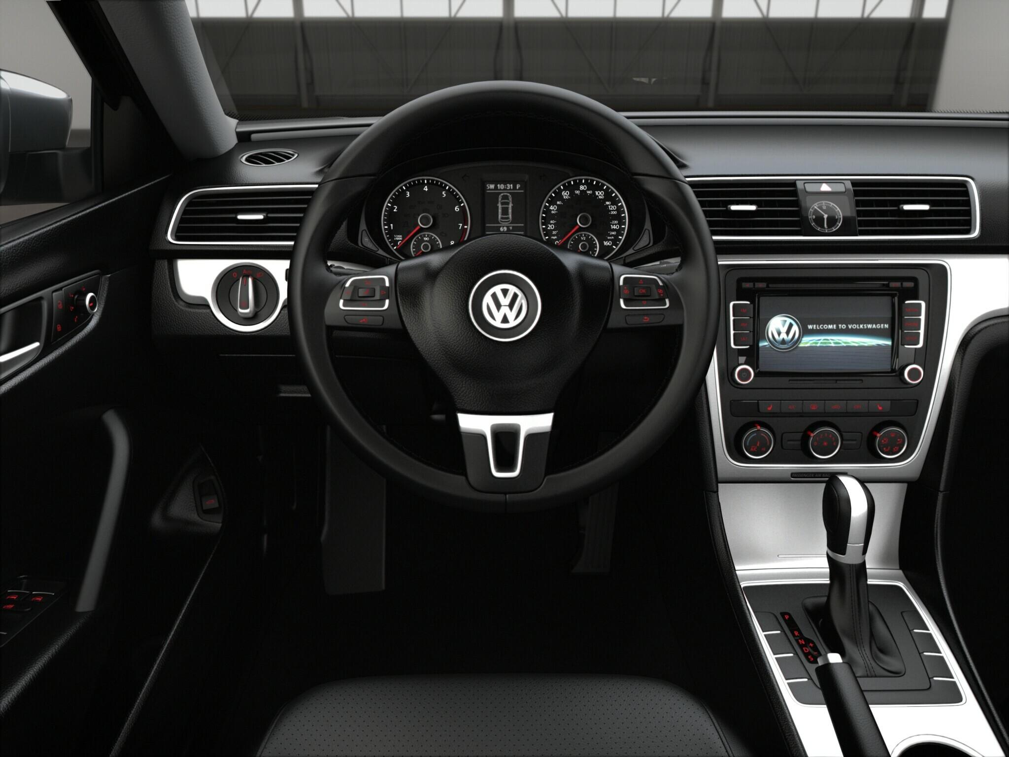 2015 VW Passat 1.8T SE Trim Features | Volkswagen
