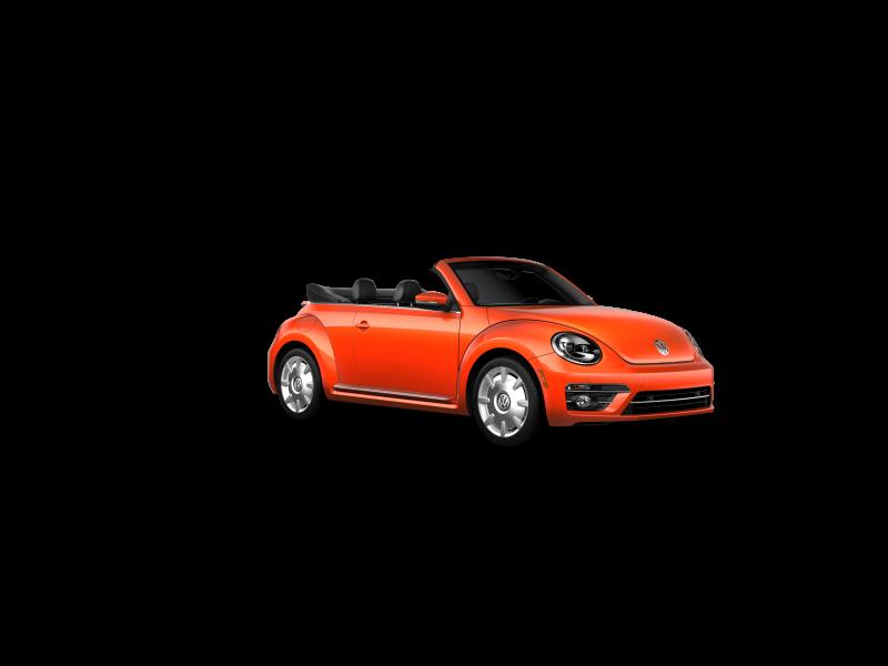 Habanero Orange Metallic 250 With Black Roof Beetle Convertible