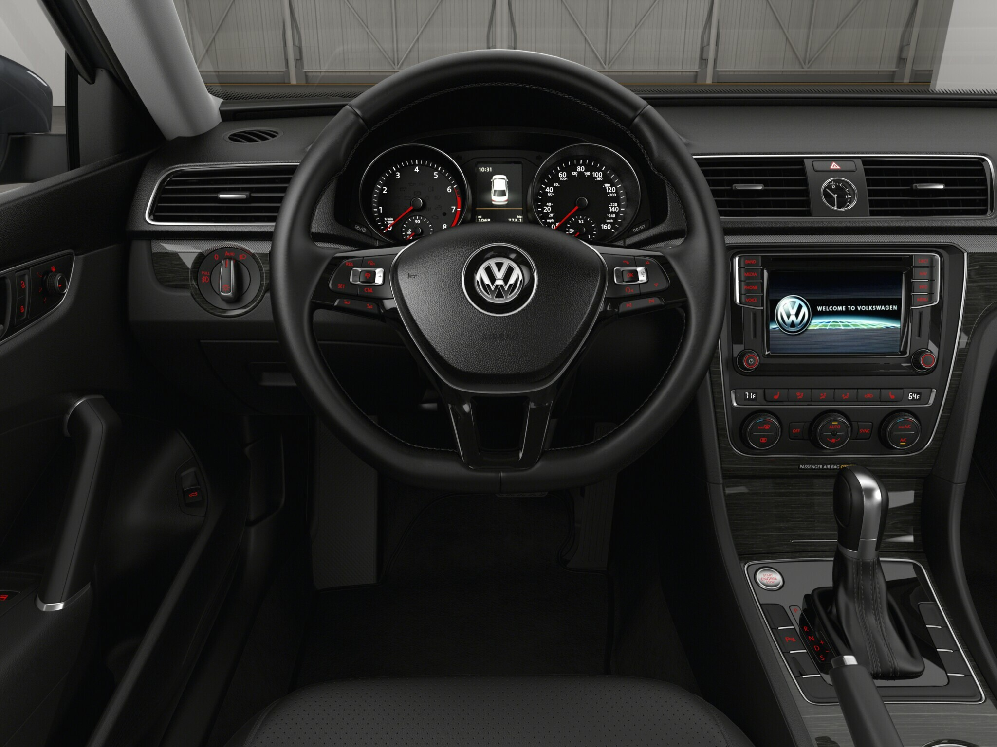 2017 Vw Pat 1 8t Se W Technology Trim Features Volkswagen