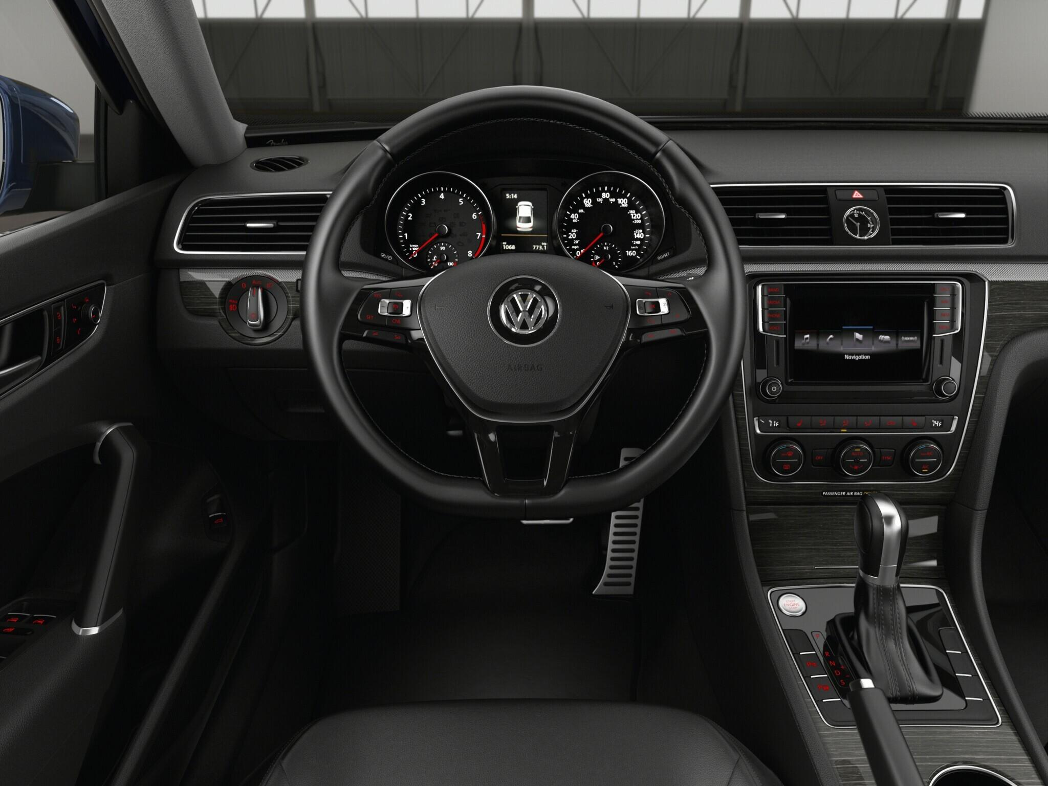 2016 Vw Pat 1 8t Sel Premium Trim Features Volkswagen
